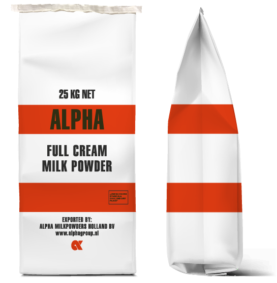 Alpha Full Cream Milkpowder bag