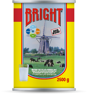 Bright tin 2500g Alpha