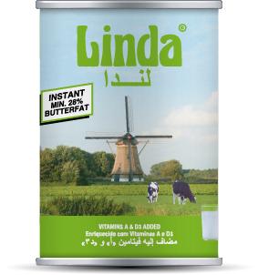Instant butterfat Linda green Alpha