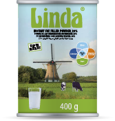 Linda tin Alpha Milkpowders